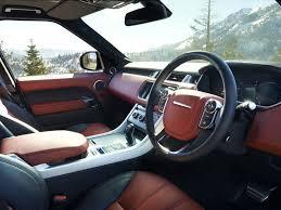 land rover interior 2014. 2014 land rover range sport red interior dash
