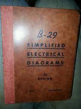 b 29 boeing ww2 bomber electrical wiring diagrams schematics b 29 boeing ww2 bomber electrical wiring diagrams schematics manual book drawing