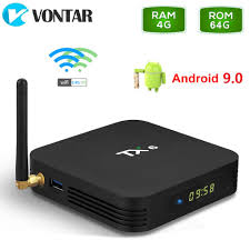 TX6 Android 9.0 Android TV box 4GB 64GB Allwinner H6 Quad Core Wifi HDR 4K  Tanix 4GB 32GB media player TX6mini 2G 16G|Set-top Boxes