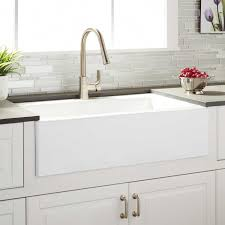 smooth kitchen cabinets new 33 reversible farmhouse sink white curved fronth kitchen farm image