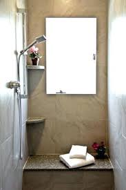 tiny house shower stalls stall with seat ideas