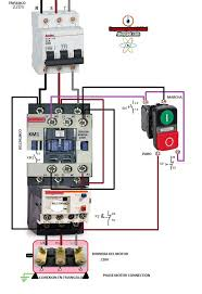 dc motor wiring diagrams wiring diagram schematics baudetails info three phase contactor wiring diagram electrical info pics non