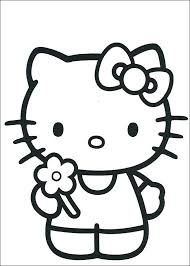 Hello Kitty Coloring Pages Printable Topolcanykings Com