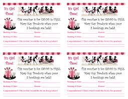 mary kay gift certificate templates great business cards mary kay templates