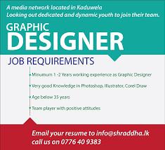 Graphic Designer Adalah Contoh Job Vacancy Graphic Designer Beserta Application
