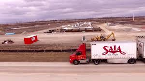 saia stl terminal construction 2