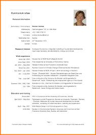 modelo curriculum best solutions of curriculum vitae formato pdf descargar also