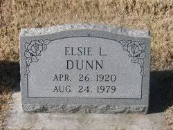 Elsie L. Dunn (1920-1979) - Find A Grave Memorial