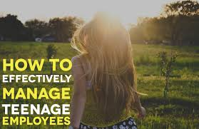 what does employees supervised mean how to effectively manage teenage employees when i work when i work