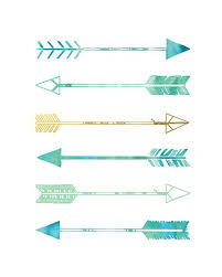 >arrows print teal and gold green blue and gold arrows wall art  arrows print green blue and gold arrows wall art faux gold foil print 5x7 8x10 11x14 12x16 13x19 teal and gold seafoam green