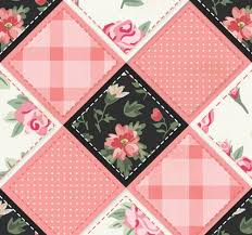 52 Free and Easy Patchwork Quilt Patterns with Images - My Happy ... & Pink Flowers Patchwork Image Adamdwight.com
