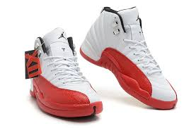 jordan shoes for girls black and red. air jordan 12 retro white varsity red black for sale-2 shoes girls and i