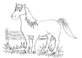 Mustang Horse Coloring Pages Mustang Horse Coloring Pages Wild