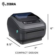 Zebra Gk420d Direct Thermal Desktop Printer For Labels Receipts Barcodes Tags And Wrist Bands Print Width Of 4 In Usb Serial And Parallel