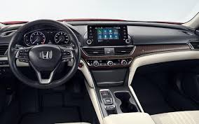 2018 honda accord sedan interior