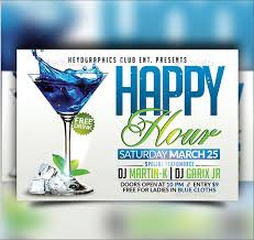 Happy Hour Flyer Happy Hour Flyer Template Business