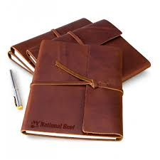 personalized keepsake gifts embossed fine leather journal