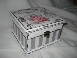Decorating Cigar Boxes Hand made box decorated in decoupage style cajas dos 57