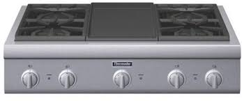 36 inch gas cooktop with griddle. Plain With Thermador PCG364GD 36 Inch ProStyle Gas Rangetop With 4 Pedestal Star  Burners Griddle Or Grill Option Metal Knobs Precision Simmering And Island Trim  In Cooktop With 6