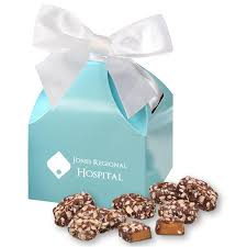 english er toffee in robin s egg blue gift box