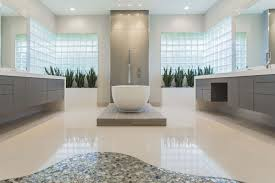 Memorial Modern Master Bath Remodel Houston TX 2015 SweetLake