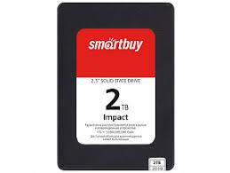 Твердотельный накопитель SSD M.2 NVMe 2Tb <b>Smartbuy Impact</b> ...