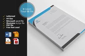 Microsoft Word Letterhead