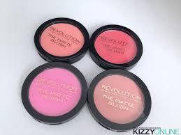 makeup revolution usa the matte blush