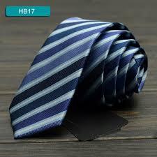 Новая Мода Дизайнерский Бренд СМ Тонкие Галстуки для Мужчин  2017 Новая Мода Дизайнерский Бренд 5 СМ Тонкие Галстуки для Мужчин синий Полосатый Бизнес Галстук Дипломная