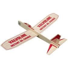 promotional 12 balsa wooden toy airplane glider