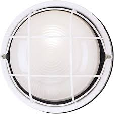 Exterior Wall Accent Lighting Westinghouse Lighting 6783600 One Light Exterior Wall Fixture White Finish On Steel With White Glass Lens