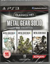 Metal Gear Solid Hd Collection Three Games Included Ps3 New Metal Gear Solid Hd Collection Ps3 Ebay