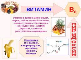 Витамин b Пиридоксин влияние на организм польза и вред  Полезные свойства витамина В6