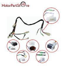 compare prices on main wiring harness online shopping buy low electrical main wiring harness wire loom plus connectors for yamaha pw50 pw 50 2 stroke