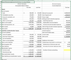 Excel Financial Statement Solved Chapter 13 Excel Please Provide Excel Formulas