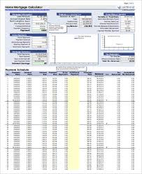 Mortgage Payment Calculator Extra Payment 6 Examples In