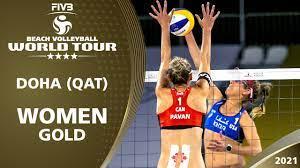 Women's Gold Medal: Alix/April vs ...