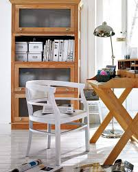 storage for home office. Vintage Shelving Unit Combined With A Deck That Has Some Storage Compartments Could Hold Lots For Home Office