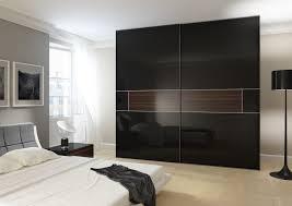 Wardrobe With High Gloss And Acrylic Gloss Sliding Doors - Bedroom wardrobe sliding doors