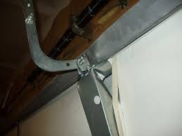 garage door reinforcement bracketGarage Door Twisted Broken By Opener  General DIY Discussions