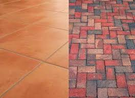 brick versus ceramic tile flooring for cost to install brick wall 2018