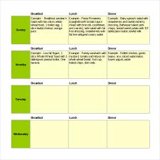 Restaurant Menu Format Free Restaurant Menu Format Excel Topagogo Com