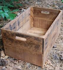 diy pallet bin build pallet furniture plans
