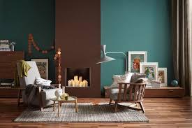 Wohnzimmerfarben Braune Ledermöbel Farben Passend Schöner Wohnen Die Wandfarben Petrol Und Braun In Einem Raum Bild 10 schÖner