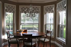Dining Room Bay Window Treatments For nifty Dining Room Bay Window  Treatments Euskal Net Amazing
