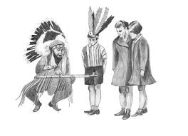 a visual essay on the assimilation of native americans into  nai 25