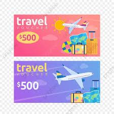 modern summer holiday voucher trip