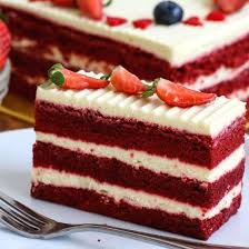 slice of birthday cake red velvet. Wonderful Red Red Velvet Cake Intended Slice Of Birthday JUNANDUS