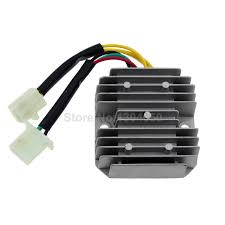 online buy whole regulator rectifier wiring from new gy6 50 150cc 152qmi 157qmj scooter voltage regulator rectifier 6 wires chinese moped sunl jcl