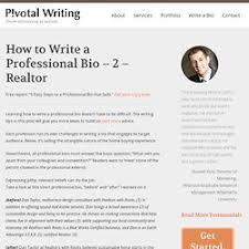 How To Write A Profile Writing A Professional Profile Pearltrees